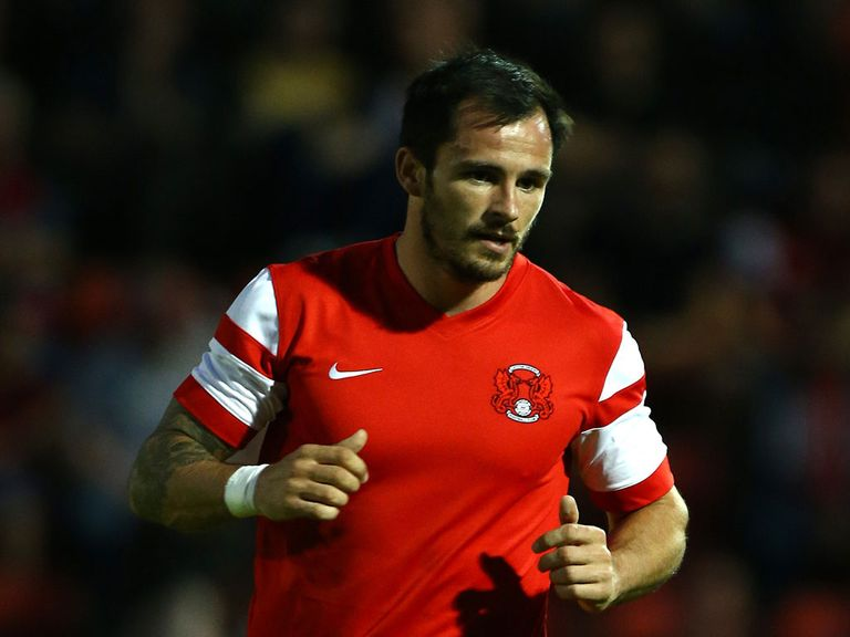 Chris Dagnall: Scored twice for Orient