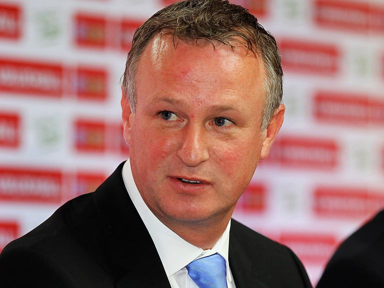 Michael O'Neill, manager of Northern Ireland