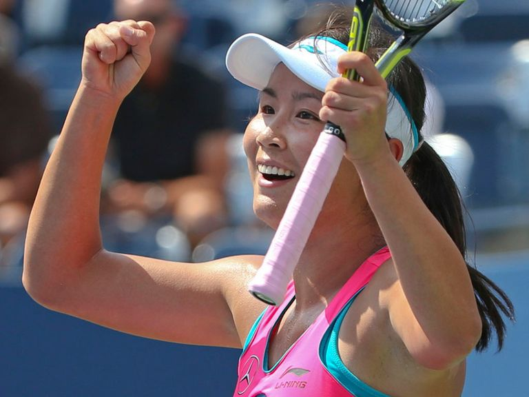 Shuai Peng reaches the semi-finals of the US Open