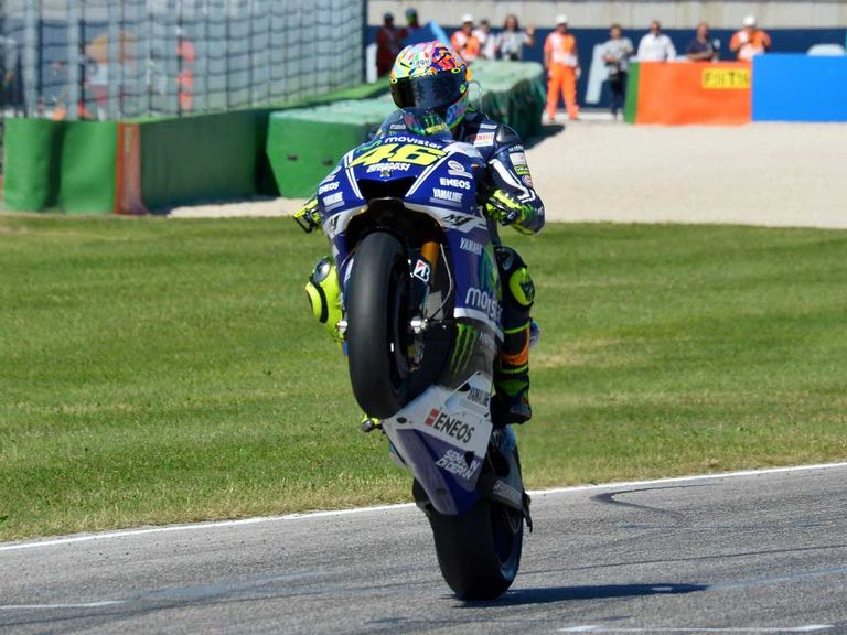 valentino rossi ndash wheelie - photo #45