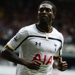 Emmanuel Adebayor: Unconvincing in possession