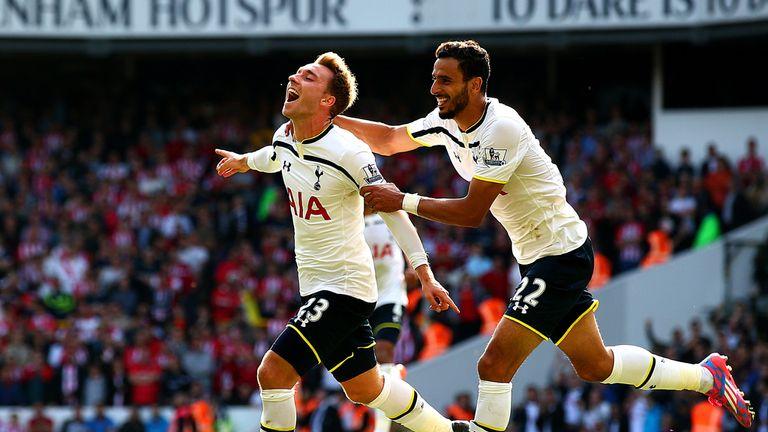 Christian Eriksen: Danish midfielder scored the only goal of the game against Southampton