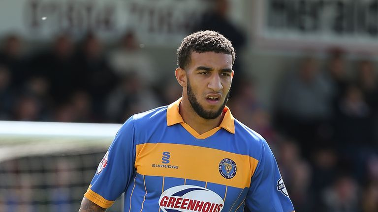 Connor Goldson: Scored winning goal for Shrewsbury Town