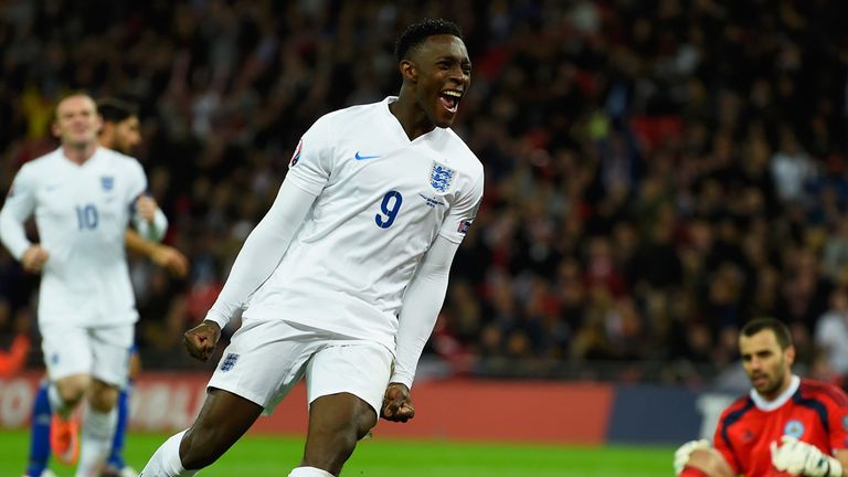 Welbeck: Made it 3-0 to England