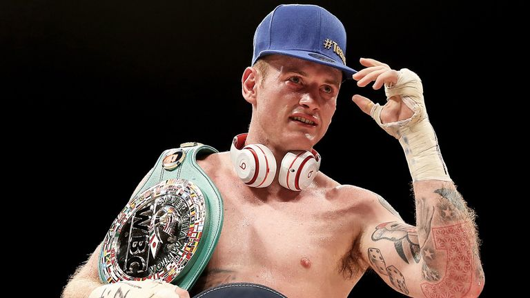 George Groves: Back in action on Sky Sports Box Office