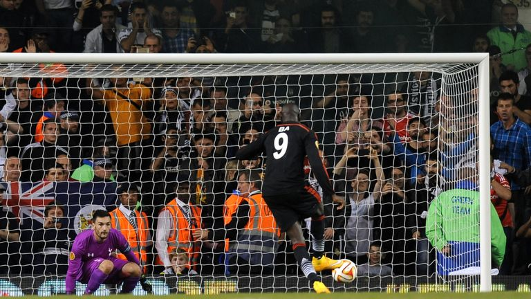 Demba Ba: Late penalty earned a point for Besiktas against Tottenham