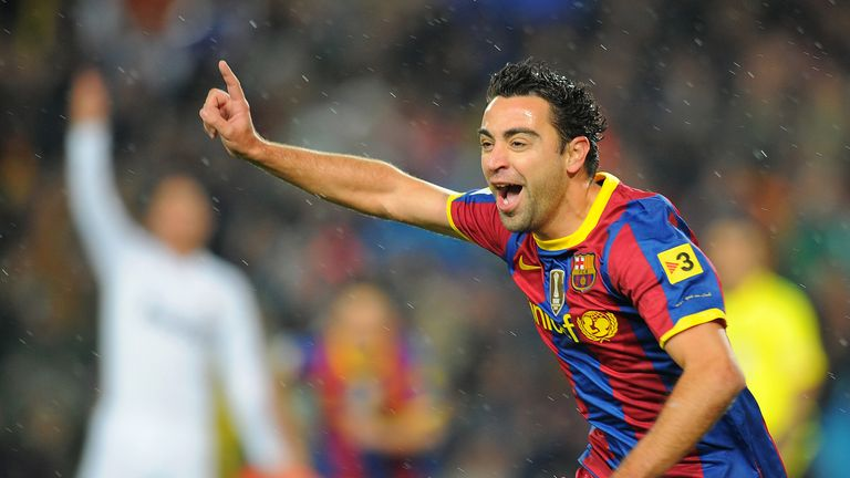 Xavi is included in each pundit's combined XI from both sides