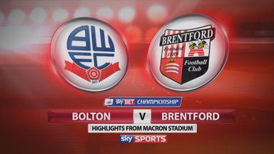 Bolton 3-1 Brentford