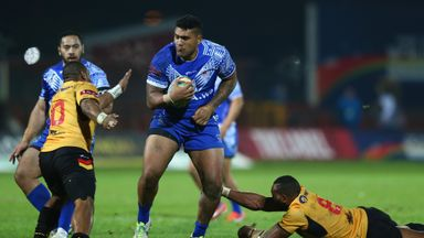 St Helens' Mose Masoe sees no reason why Samoa cannot upset England in Brisbane