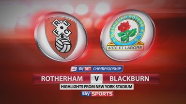 Rotherham 2-0 Blackburn