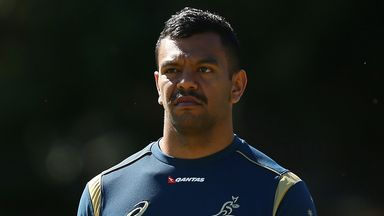 Kurtley Beale: Left at home by Australia