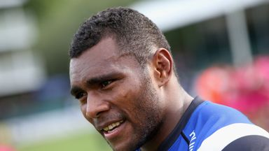 Rokoduguni: Called up to the 40-man training squad for England's Autumn Internationals