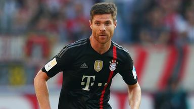 Xabi Alonso: Happy with his career path