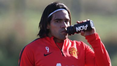 Falcao: Has been linked with a summer move to Juventus