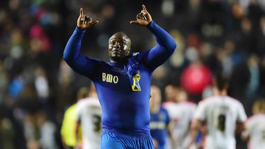 Adebayo Akinfenwa: Set to keep place in side