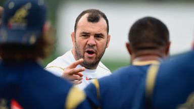 Michael Cheika: First game in charge