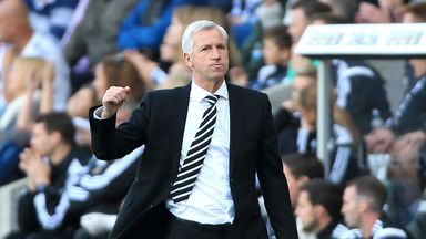 Alan Pardew: Has overseen five straight wins