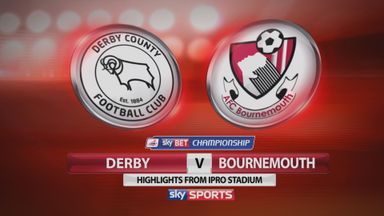 Derby 2-0 Bournemouth