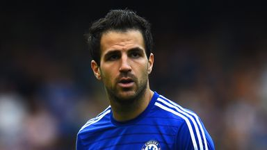 Cesc Fabregas: Chelsea midfielder will miss Spain