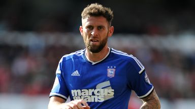 Daryl Murphy: Misses out for Ipswich