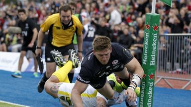 David Strettle: Scored two tries for Saracens in their win over Clermont in round one