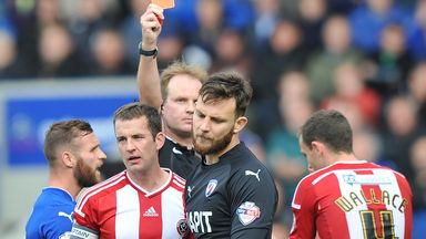 Tommy Lee: Red Card overturned