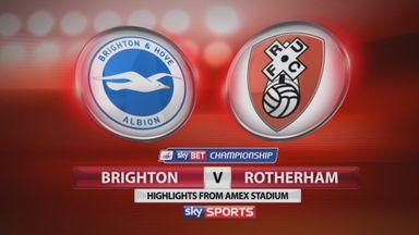 Brighton 1-1 Rotherham