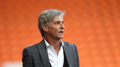 Jose Riga: Blackpool squad lacks strength in depth