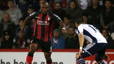 Bournemouth's Tokelo Rantie (left): Should be available