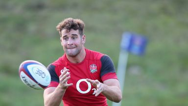 Calum Clark: Ready to stake his claim for a place in the England starting XV
