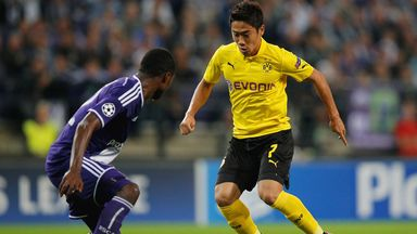Shinji Kagawa: Returned to Borussia Dortmund over the summer