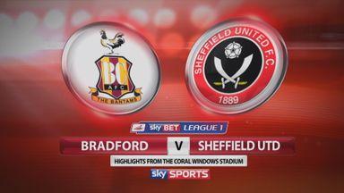 Bradford 0-2 Sheffield Utd
