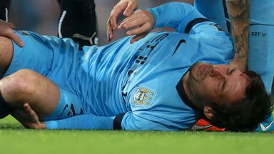 David Silva will miss Sunday
