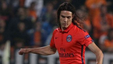 Edinson Cavani: Happy to stay in France