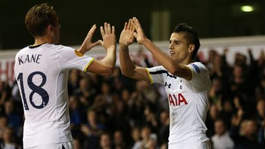 Kane and Lamela: Spurs' goal heroes on the night