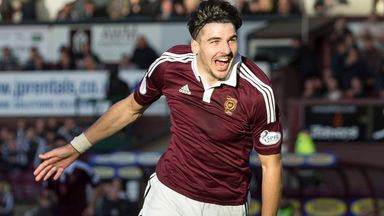 Callum Paterson: Netted second goal for Hearts