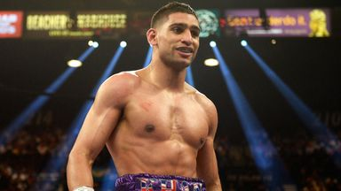 Amir Khan: Returns to the ring in December