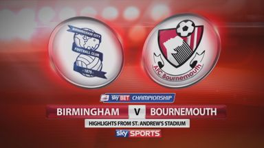 Birmingham 0-8 Bournemouth