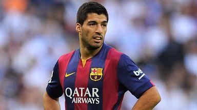 Luis Suarez: Set for home bow