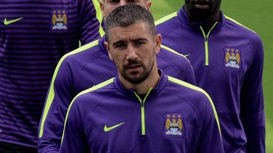 Aleksandar Kolarov: Picked up injury ahead of the Manchester derby