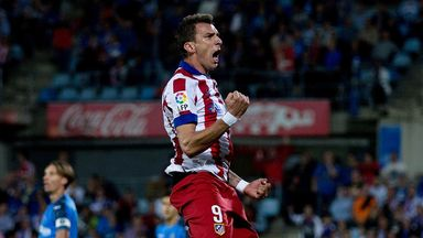 Mario Mandzukic will be available for the eagerly-anticipated clash against Real Madrid