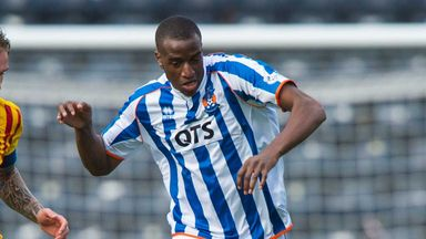 Michael Ngoo: Kilmarnock striker out with ankle injury