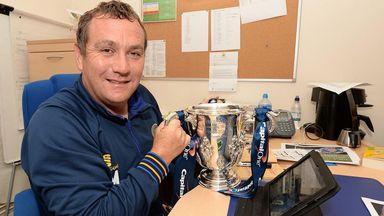 Shrewsbury boss Micky Mellon and his side will take on Jose Mourinho's Chelsea stars