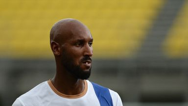 Nicolas Anelka: Unlucky 13 as Algerian move is blocked