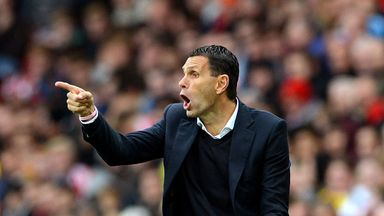 Gus Poyet: Wants a new striker