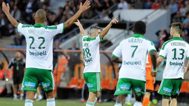 Saint-Etienne: Up to fourth in Ligue 1 after win