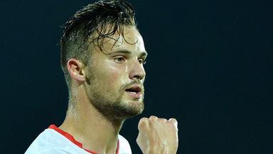 Haris Seferovic: Opened the scoring for the Swiss