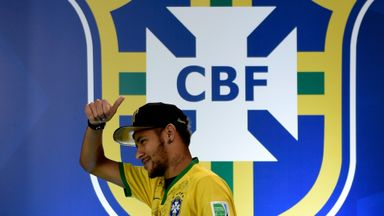 Brazil star Neymar has earrings in both ears and is often seen in a baseball cap