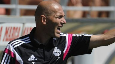 Zinedine Zidane is currently manager of Real Madrid Castilla