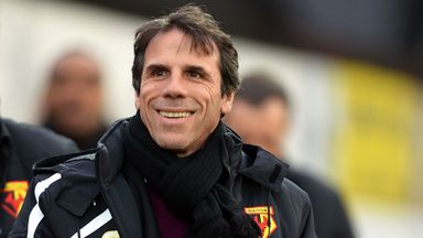 Gianfranco Zola: Back in football with Cagliari
